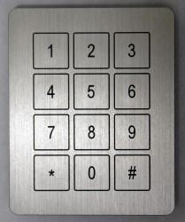 Codeklavier toegangscontrole