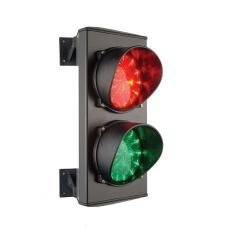Verkeerslicht met Leds Rood en Groen 230V