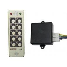 Codeklavier/Keypad vandaalbestendig kit met Controller (EGOS - EGOE) Codeklavieren by www.svn-systems.be