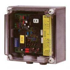 Voertuigdetector 230V voor de aansluiting van twee detectielussen IP65
