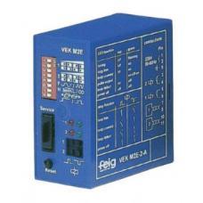 Voertuigdetector 230V voor de aansluiting van twee detectielussen