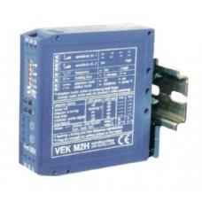 Voertuigdetector 24V AC/DC voor de aansluiting van twee detectielussen