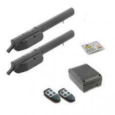 Bla24S Standard Kit 2X Motoren+Prg 24Vdc+Bat+2Tx4 (BLCAA100) Cardin Kits by www.svn-systems.be