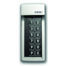 Faac Draadloos Codeklavier tot 4 Codes (12204770077) Faac 868MHz Zenders by www.svn-systems.be