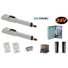 Master kit 24V Integral 415 (104415145) Faac Kits by www.svn-systems.be