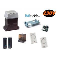 Pratico Kit Integral 746 voor Schuifhek tot 600Kg (105653144) Faac Kits by www.svn-systems.be