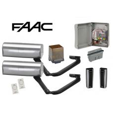 Magnum Kit voor 2 Vleugels tot 1800mm (105660146) Faac Kits by www.svn-systems.be