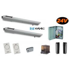 Handy kit 24V Integraal S418 (105998144) Faac Kits by www.svn-systems.be