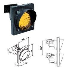 Verkeerslicht Geel voor E27 Led lamp