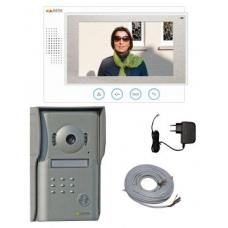Aspekto kleuren videofoon met handenvrije binnenpost